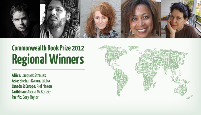 Commonwealth Book Prize 2012: Regional Winners - large image