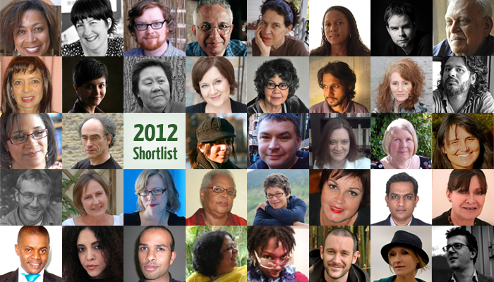 Shortlisted Author Biographies: CW Book Prize & Short Story Prize 2012 - large image